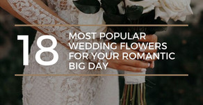 18 Most Popular Wedding Flowers for Your Romantic Big Day