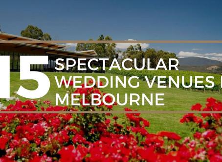 15 Most Extraordinary Wedding Venues in Melbourne