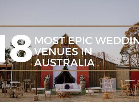 18 Most Epic Wedding Venues in Australia