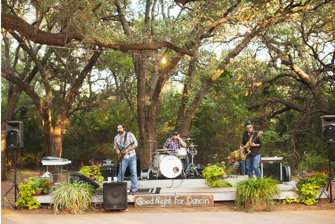 wedding band outdoor