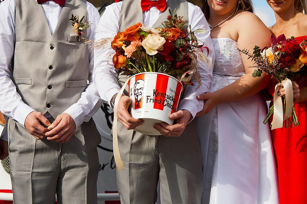 KFC Wedding in Australia