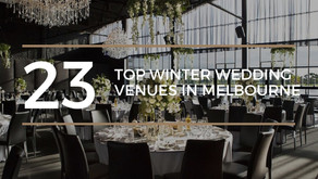 Top 23 Winter Wedding Venues in Melbourne