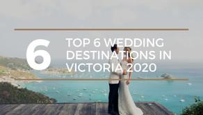 Get Married in Victoria: Top 6 Wedding Destinations in 2020