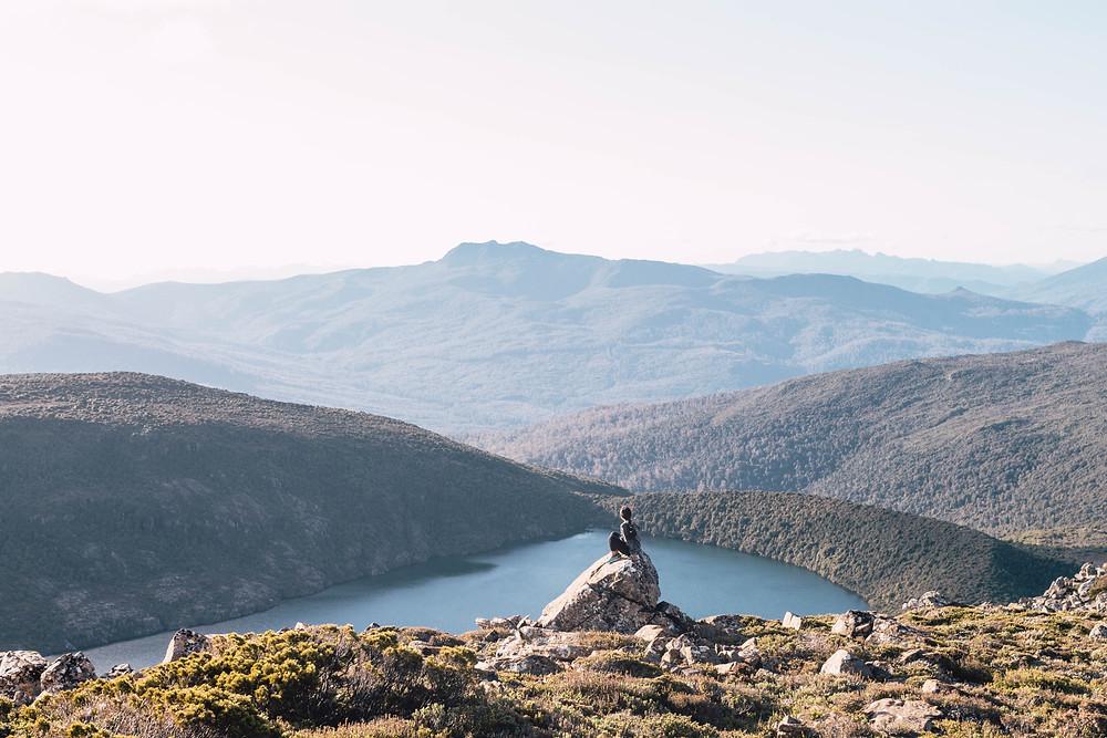 Tasmania Mountain Lake wedding honeymoon destinations