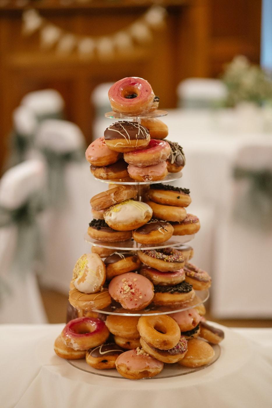 Krispy Kreme Donut Wedding Cake