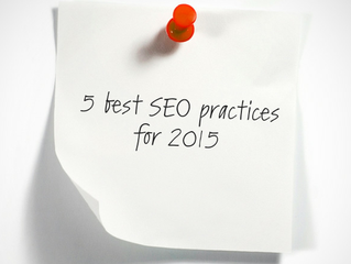 5 best SEO practices for 2015