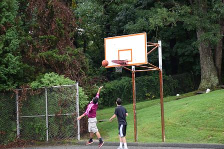 Basketball at Retreat