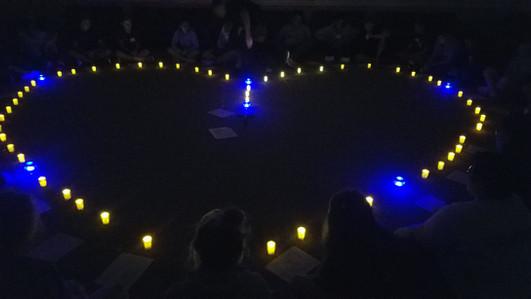 Illuminated Rosary