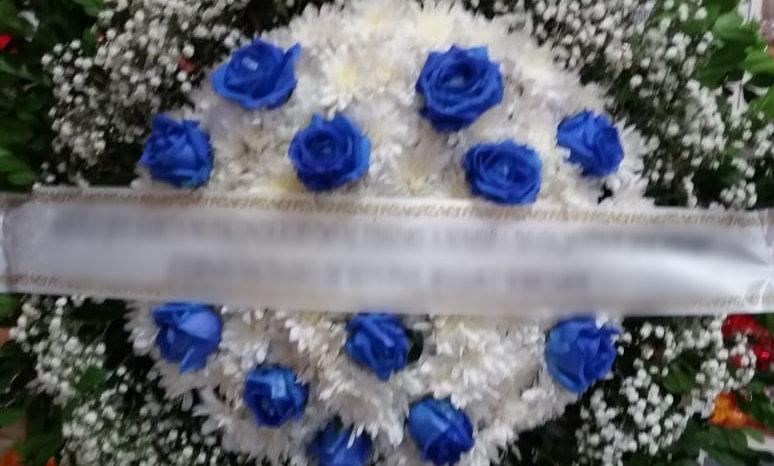 Coroa - Flores do campo com Botões de Rosa