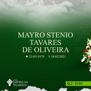 Mayro Stenio Tavares de Oliveira