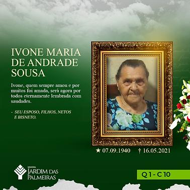 Ivone Maria de Andrade Sousa