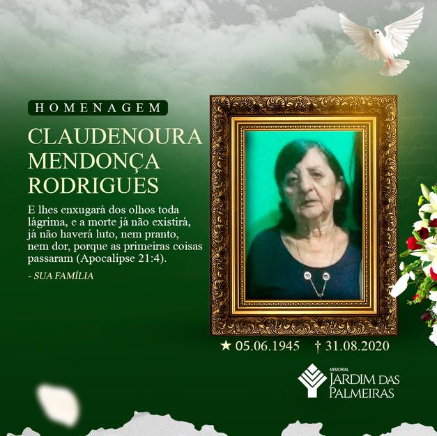 Claudenoura Mendonça Rodrigues