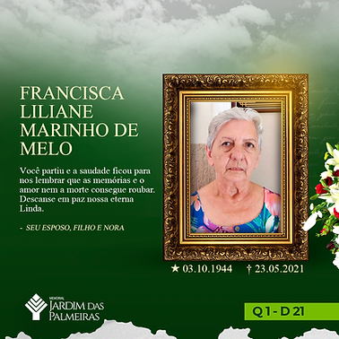 Francisca Liliane Marinho de Melo