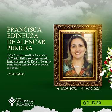 Francisca Edineuza De Alencar Pereira
