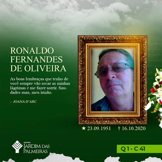 Ronaldo Fernandes De Oliveira