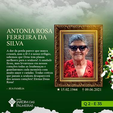 Antonia Rosa Ferreira da Silva
