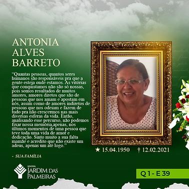 Antonia Alves Barreto