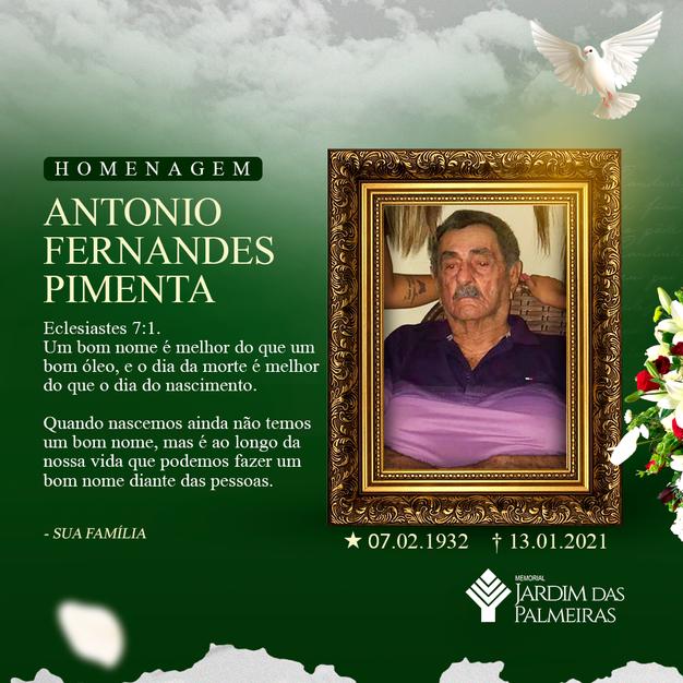 Antonio Fernandes Pimenta