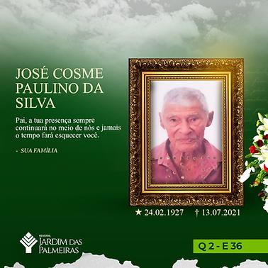 José Cosme Paulino da Silva