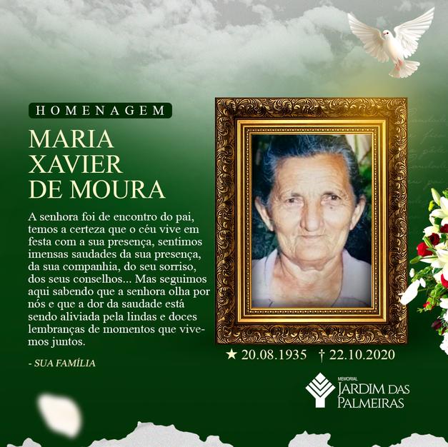 Maria Xavier de Moura