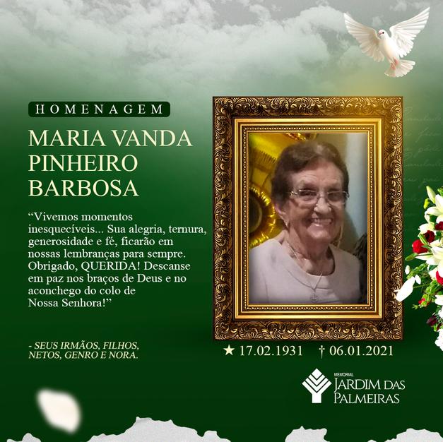 Maria Vanda Pinheiro Barbosa