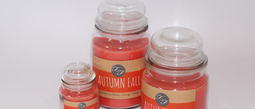 Autumn Fall Candle Flicker and Flame
