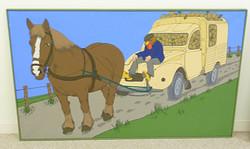 Horse Drawn Citroen