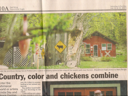 Country, Color and Chickens Combine
