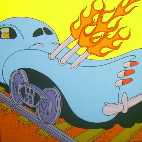 Flaming Rail 1