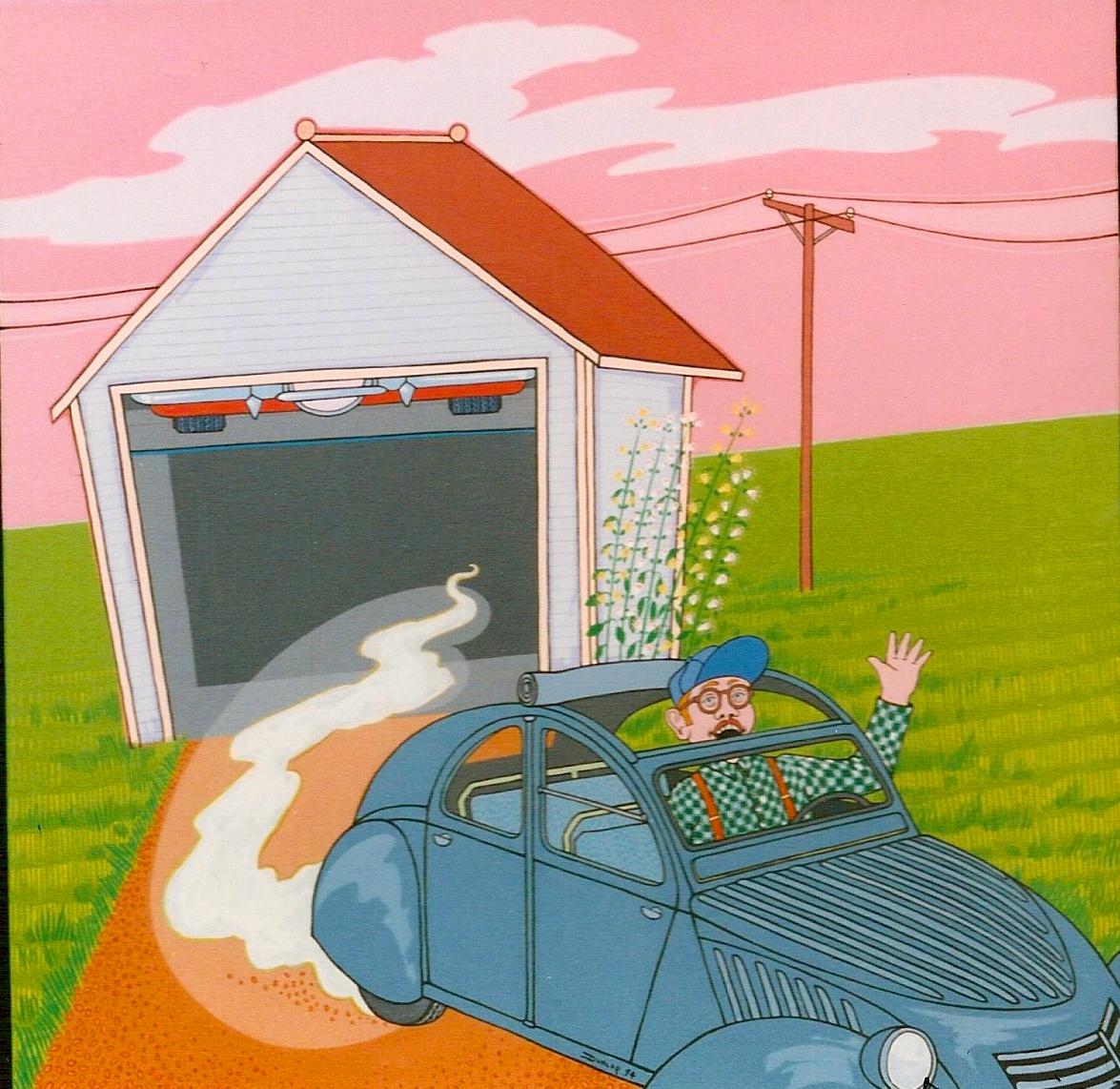 Triptych – Walts Garage 3