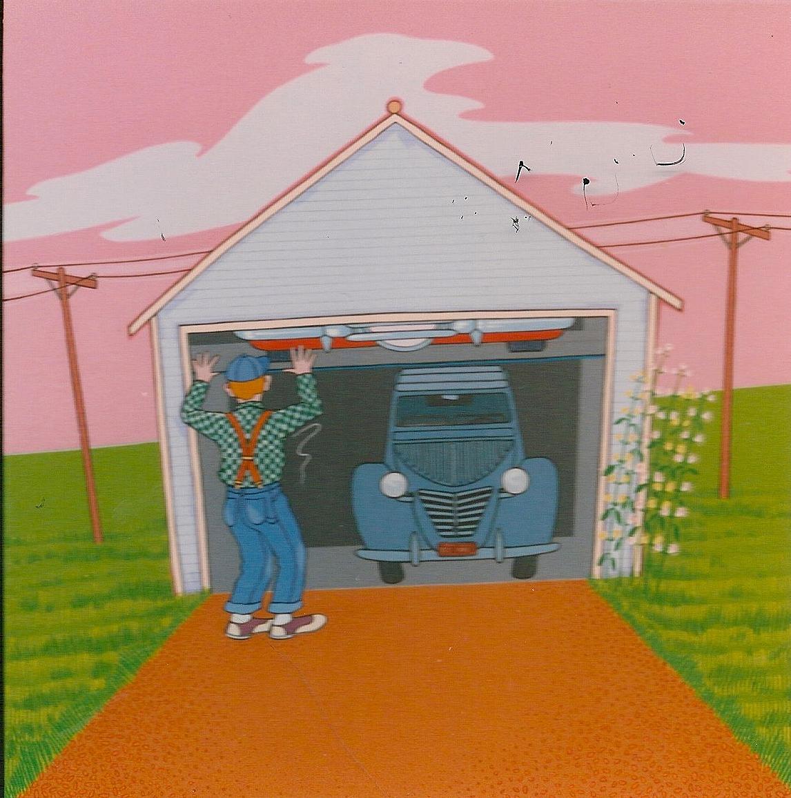 Triptych – Walts Garage 2
