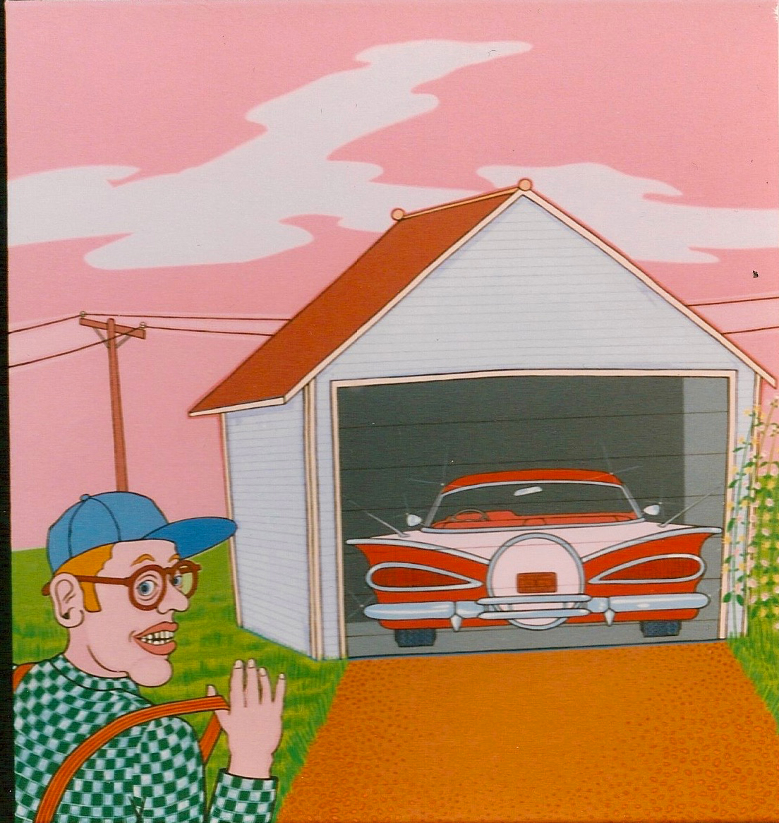Triptych – Walts Garage 1