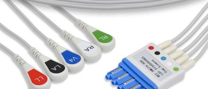 Siemens Compatible EKG Leadwire