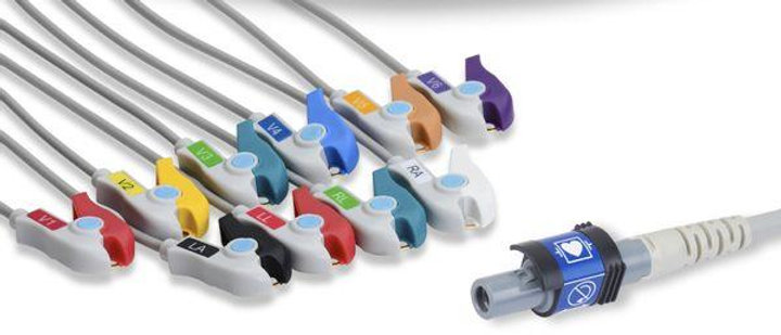 Welch Allyn Compatible Direct-Connect EKG Cable