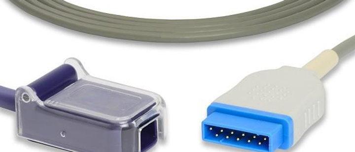 GE Healthcare Marquette Compatible SpO2 Adapter Cable