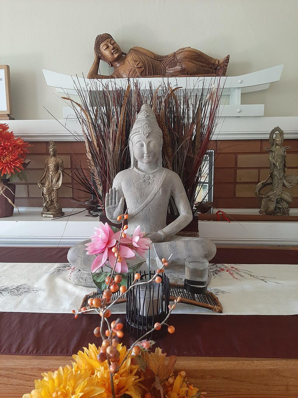 Buddha Shrine.