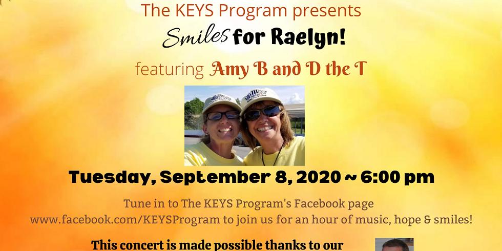 Smiles for Raelyn!