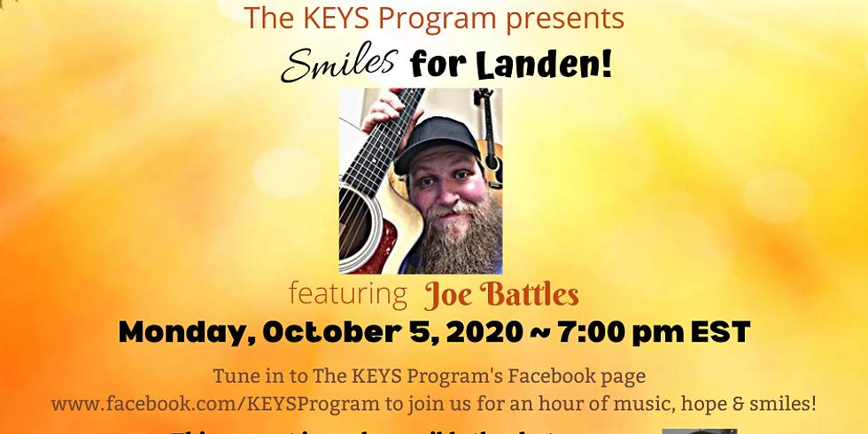 Smiles for Landen!