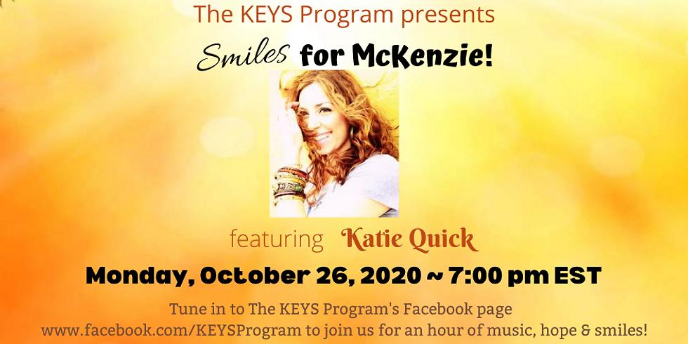 Smiles for McKenzie!