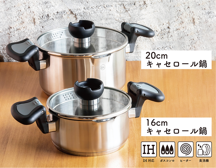 ARON 調理鍋 16 cm