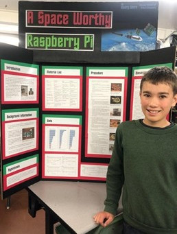 Volcano School Students Compete in County Science Fair