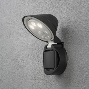 led spotlight utomhus rörelsevakt Södermalm Elfirma Elektriker Elinstallation