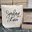 Thumbnail: Sending Love Canvas Tote