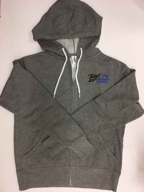 Original Gray Zip Hoodie