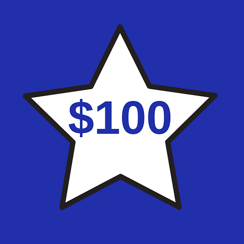 Teacher Appreciation $100