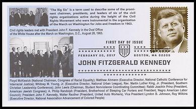JL-5 March on Washington JFK stamp.jpg