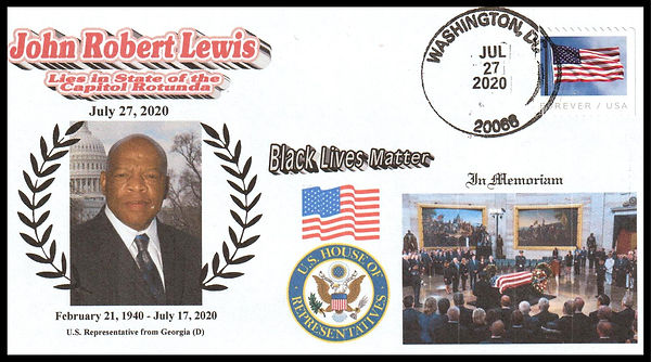 JL-20 Black Livers Matter memorial cover