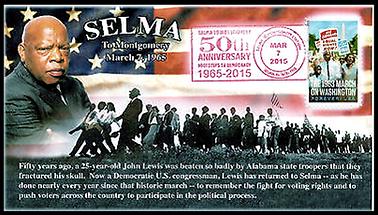 JL-13 Selma March 50th Anniversary cover