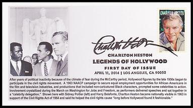 JL-7 March on Washington Charlton Heston