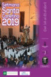 Setmana Santa Carletina - Cartell oficia